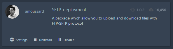 SFTP-Deployment allows uploading files in git repo directory directly to specific ftp/sftp server directory